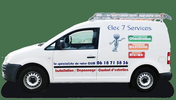 A Sète, Elec 7 Services est une entreprise d'électricité générale experte en tous travaux électricité, climatisation, chauffage, alarme et vidéosurveillance -installation, maintenance, dépannage