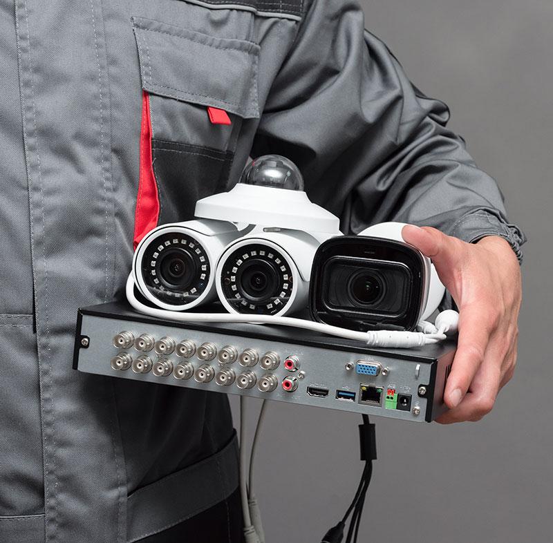 Installation et dépannage de vidéosurveillance à Frontignan | Elec 7 Services